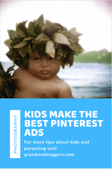 Kids make the best pinterest ads